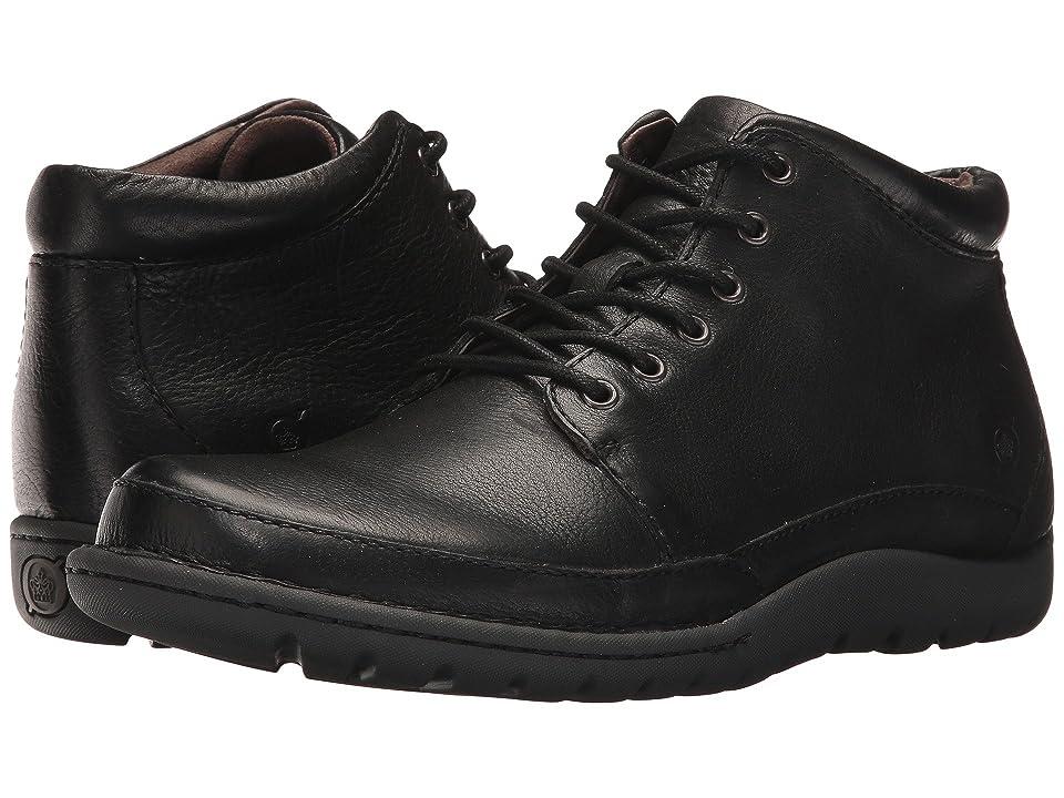 Born Nigel Boot (Black Full Grain) Men