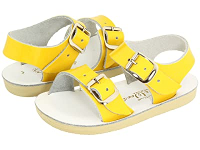 Salt Water Sandal by Hoy Shoes Sun-San Sea Wees (Infant/Toddler) (Shiny Yellow) Girls Shoes