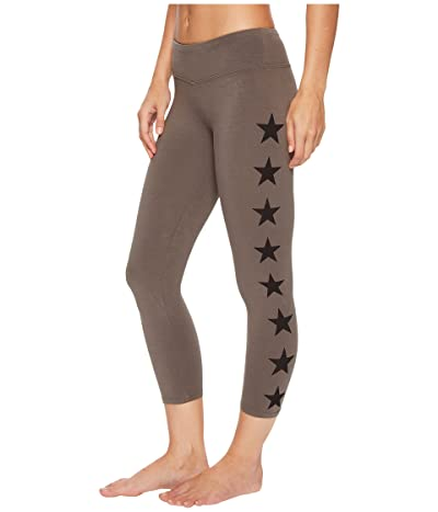 Hard Tail Flat Waist Capris (Camo/Gravel/Black) Women