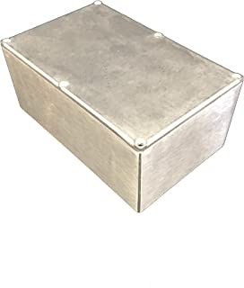 BUD Industries CU-347 Aluminum Econobox – Lightweight, Abrasion Resistant Electric Box for Electrical Applications. Metal Enclosures