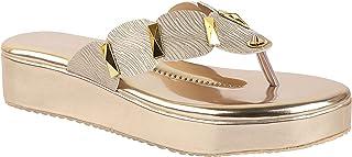 Do Bhai Fashion Slip On Platform Heels For Womens