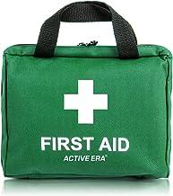 90 Piece Premium First Aid Kit Bag - Includes Eyewash, 2 x