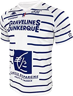BCM Gravelines Dunkerque Gravelines-dunkerque Maillot Officiel Domicile 2019-2020 Basketballtrikot