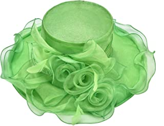 Best lime green church hats Reviews
