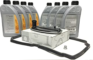 Mercedes-Benz Kit Cambio Aceite/Fluido de la transmisión automática Original ATF 134 8L MB236.14 + A1402770095
