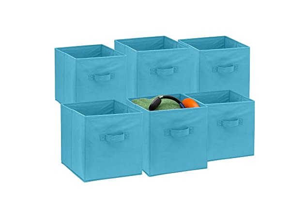 b50765b4fb8e Best fabric bins for cubes | Amazon.com