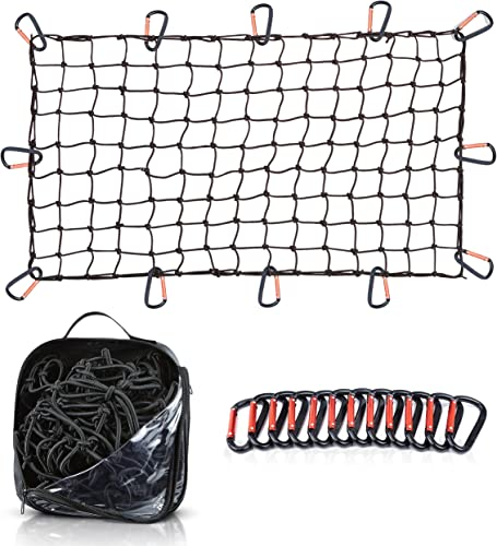 """discount 22""""x38"""" Super Duty outlet online sale Bungee Cargo Net Stretches to 44""""x76"""" 