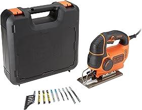 Black & Decker Decoupeerzaag, 620 W, max. KS901PEKA 90 mm zaagdiepte, variabel hefvermogen, softgrip, veiligheidsbeugel, z...