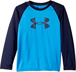 Under Armour Kids Utility Camo Big Logo Raglan (Little Kids/Big Kids)