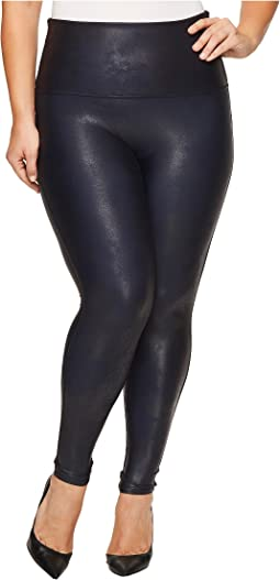 Spanx - Plus Size Faux Feather Leggings