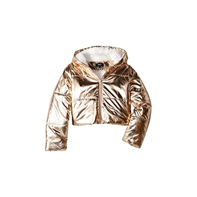 Bardot Junior Alexa Cropped Puffer (Big Kids) (Gold) Girl