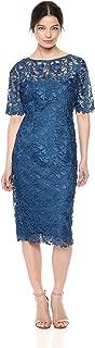 Women's Gardenia Guipure Short Dress