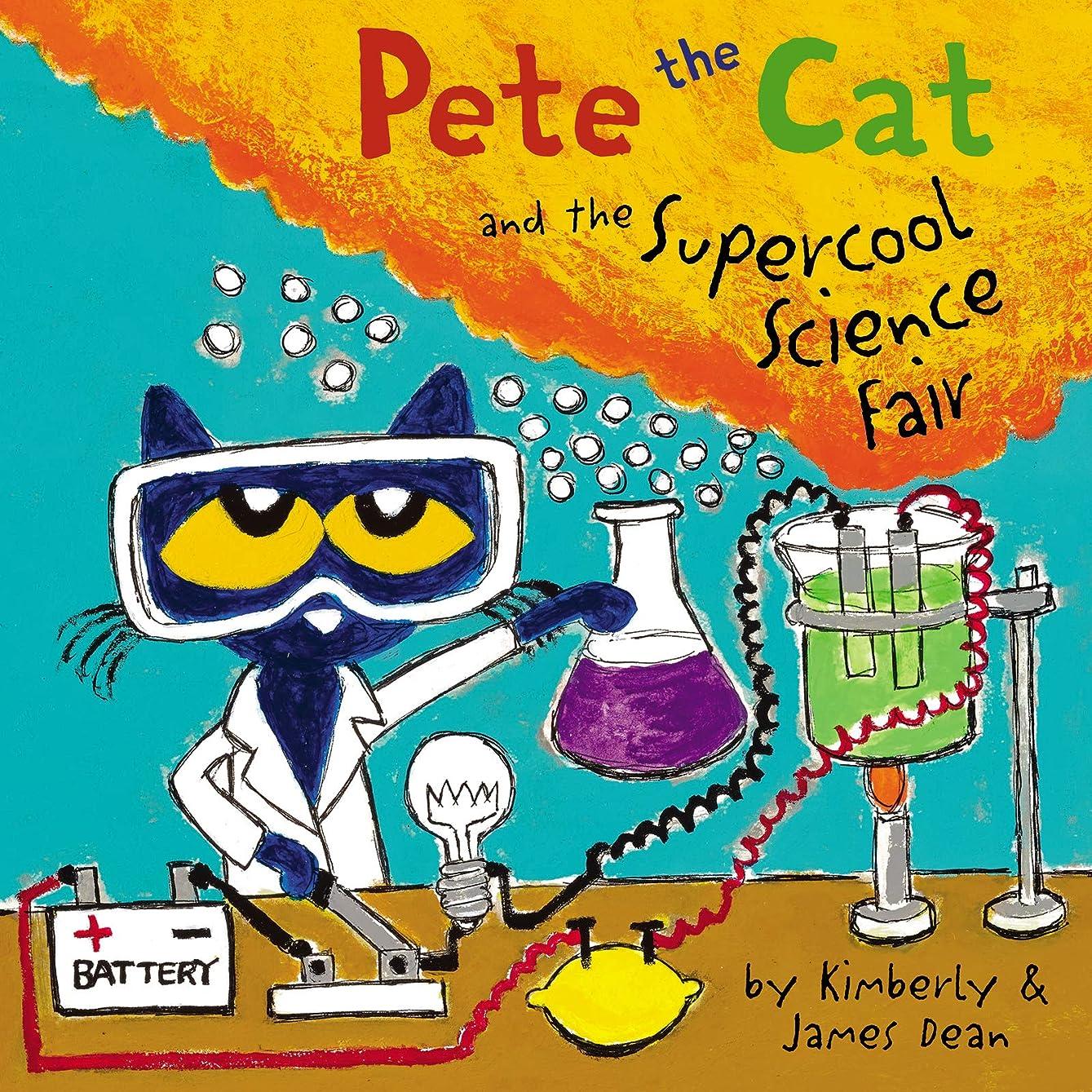 貼り直すエーカー人種Pete the Cat and the Supercool Science Fair (English Edition)