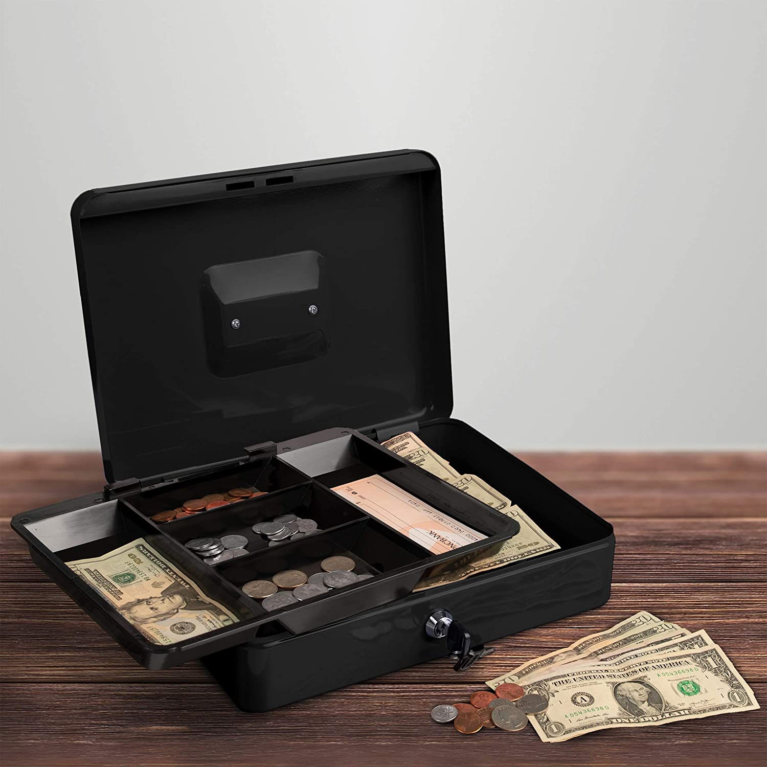 Stalwart Cash Box – Locking Petty Removable Safe 67% OFF of fixed price with OFFicial