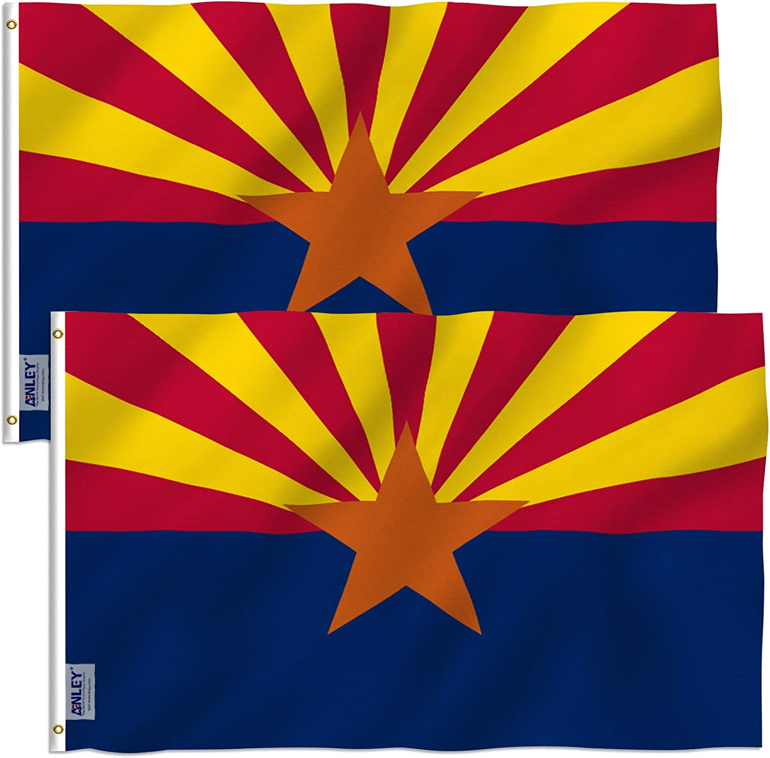 Anley Pack Bombing new work of 2 Fly Breeze State Polyester Arizona Quantity limited 3x5 Foot Flag