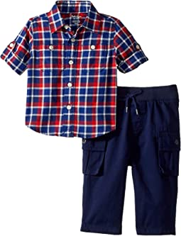 Cotton Shirt & Cargo Set (Infant)
