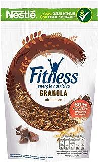 Cereales Nestlé Fitness granola con chocolate - Copos de avena integral y trigo con pepitas de