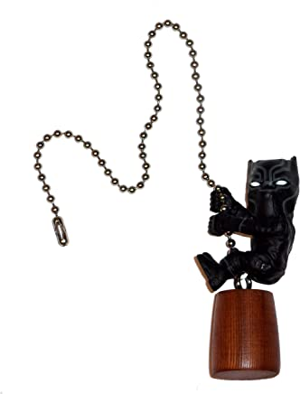 Black Panther Avengers Ceiling Fan Pull by Wooden Androyd Studio (Black Panther)