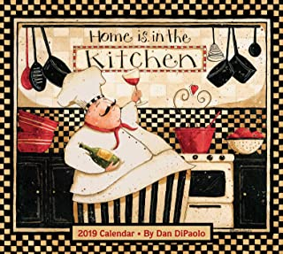 Home Is in the Kitchen 2019 Deluxe Wall Calendar - coolthings.us