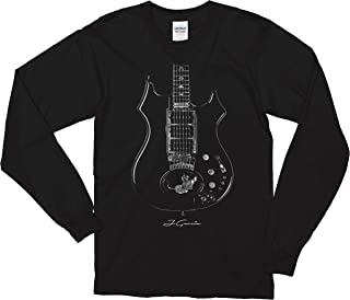 Jerry Garcia One of a Kind Guitar Long Sleeve T-Shirt