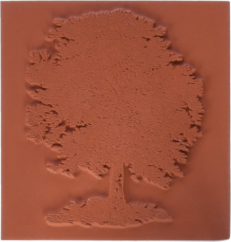 Tief Rot Briefmarken, 3,25 x 3,5 selbst Stempel Eiche, deep rot B00DOB5QQK | Überlegene Qualität