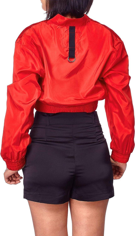 FashionMille Women Long Sleeve Lightweight Full Zip Outdoor Windbreaker Jacket