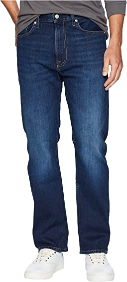 CKJ 037 Relaxed Straight Jeans in Austin Dark Blue
