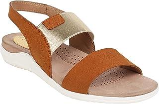 Catwalk Women's Brown Fashion Sandals