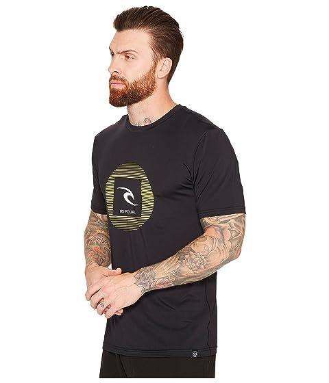 Rip Curl Up camiseta manga corta negra surf Round de de FrFqwHdf