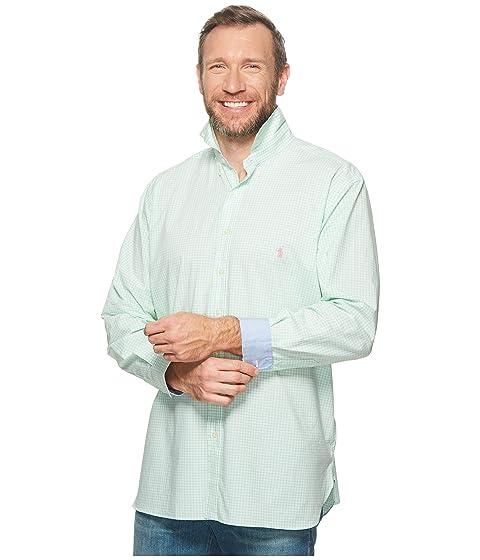 Lauren Tall Sleeve Poplin Big Long Shirt Sport Polo Ralph amp; xaI5vx6