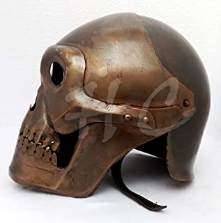 Hanzlacollection Medieval Skeleton Armour Helmet Viking Mask Spectacle Roman Knight Helmets