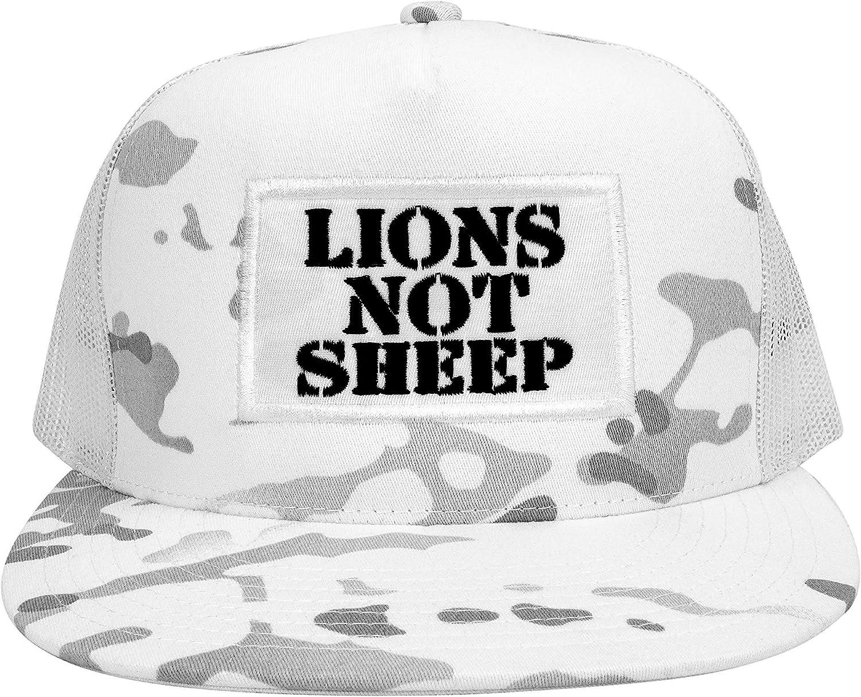 Lions Not Sheep Regular discount OG Hat - Snapback Hats wholesale with Trucker Adjustable
