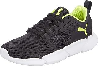 PUMA INTERFLEX Modern Puma Black-Yellow Alert Spor Ayakkabılar Kadın