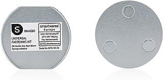 Smartwares RMAG60 Magneetbevestigingsset voor Rookmelders, 6 cm Diameter, Zilver, Set van 1
