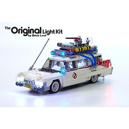 BRICK LOOT LEDライトキット LEGOゴーストバスターズ Ecto-1 21108専用 【並行輸入品】