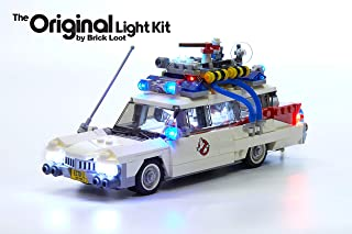 Brick Loot Lighting Kit for Your Lego Ghostbusters Ecto-1 Lego 21108 (Lego Set / Car Not Included) Light Up