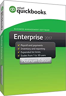 quickbooks 17 enterprise