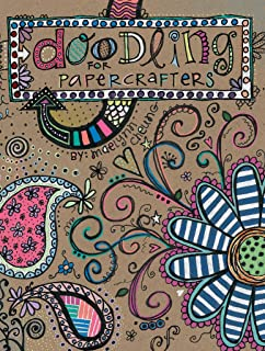 Leisure Arts Doodling for Papercrafters, Multi-Colour