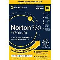 Norton 360 Premium 2021 Antivirus Software for 10 Devices Deals