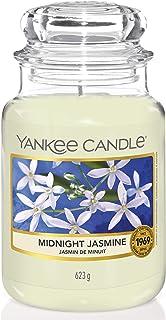 Yankee Candle bougie jarre parfumée | grande taille | Jasmin de minuit | jusqu'à 150 heures de combustion