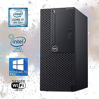 Dell Optiplex 3070 Mini-Tower Computer, Intel Core i7-9700T Upto 4.30GHz, 32GB RAM, 2TB M.2 NVMe SSD, Wi-Fi, Bluetooth, Di...