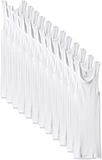 Men's 6-Pack ComfortSoft Moisture Wicking Tagless Tanks