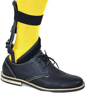 Insightful Products Step-Smart Drop Foot Brace, (Right Foot, Small/Medium) w/Hip Square (Left Foot, Small/Medium)