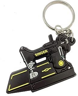 Singer Featherweight 221 Keychain (Black)