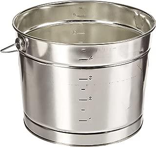 leaktite 5 qt metal pail