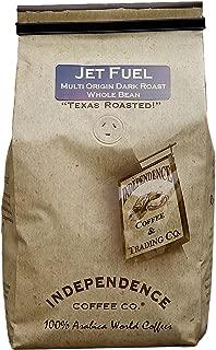 Independence Coffee Co. Jet Fuel Multi-Origin Dark Roast Whole Bean Coffee 24 Ounce (Pack of 1)