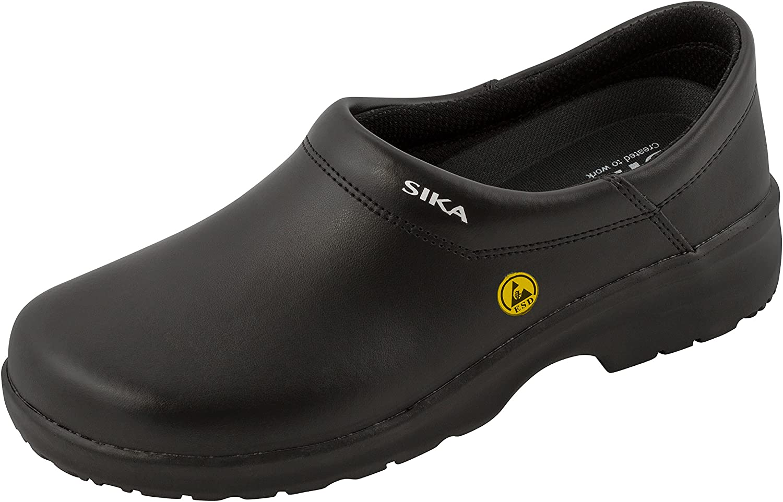 Sika Fusion Clog ESD Closed Toe Black