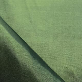 Dark Sage Polyester Lining Fabric Silk Habutae 60