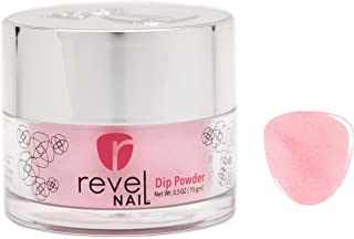Revel Nail Dip Powder   for Manicures   Nail Polish Alternative   Non-Toxic & Odor-Free   Crack & Chip Resistant   Can Last Up to 8 Weeks   0.5 oz Jar   Glitter (Kristen, 0.5 oz)