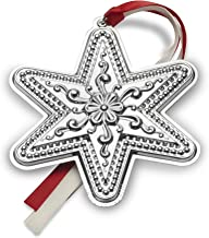 Towle 2017 Sterling Silver Star Ornament, 21st Edition